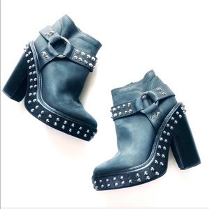 """Jeffrey Campbell """"LILYN"""" leather studded Boots"""